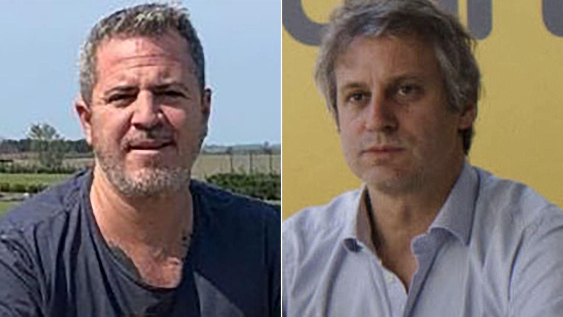 A la derecha, Felipe Miguel, jefe de Gabinete de la Ciudad. Su hermano es socio de Ignacio Sáenz Valiente (a la izquierda), el empresario que quedó bajo la lupa por dos contrataciones sospechadas