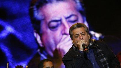 Jorge Oñate durante una presentación de música vallenata en Colombia- (COLPRENSA-ARCHIVO)