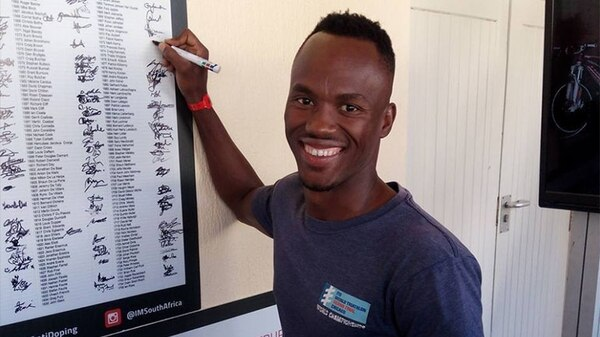 Mhlengi Mhle Gwala iba a competir en el Ironman de Sudáfrica