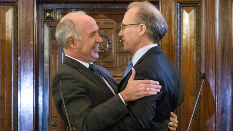 Carlos Rosenkrantz reemplazó a Carlos Lorenzetti como presidente de la Corte Suprema (NA)