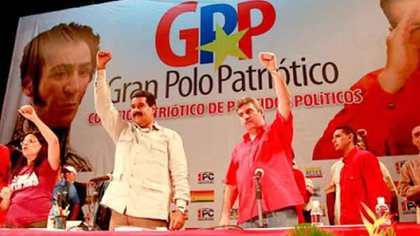 El Gran Polo Patriótico ya no es tal porque va dividido