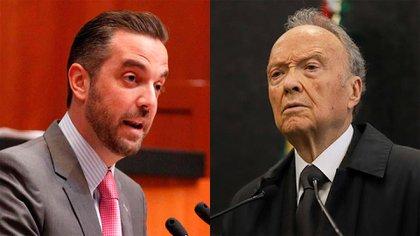 Alejandro Gertz Manero señaló que Lavalle es el primero de muchos funcionarios que serán llamado a declarar(Foto: Senado de la República/Cuartoscuro)