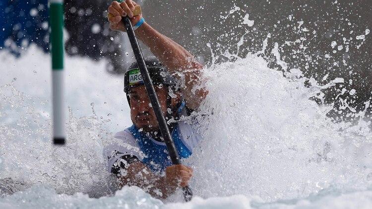Rossi se entrena para no perder el ritmo en su preparación para volver a ser olímpico en Tokio 2020