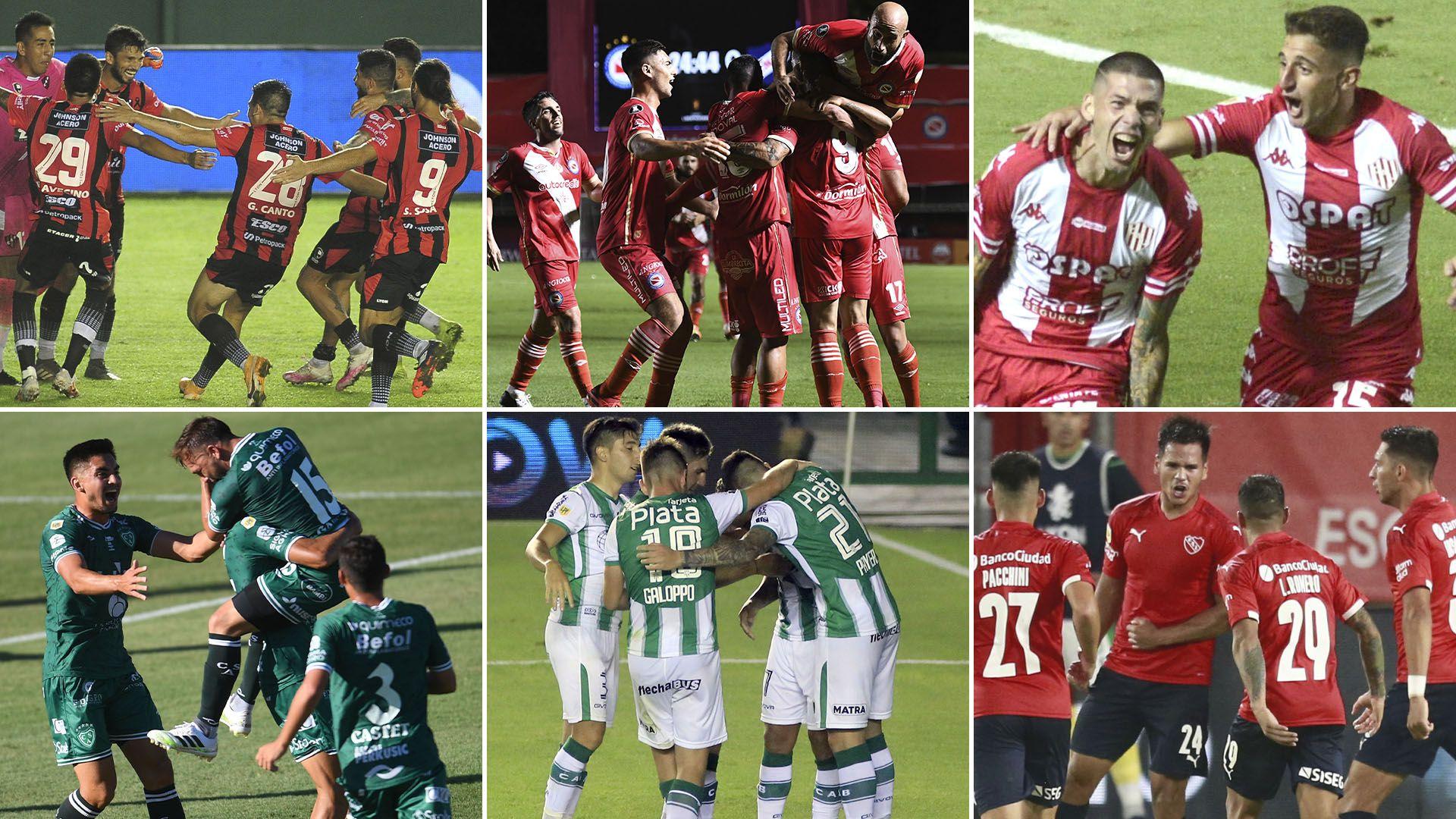 Patronato-Sarmiento Argentinos-Banfield Union-Independiente previa