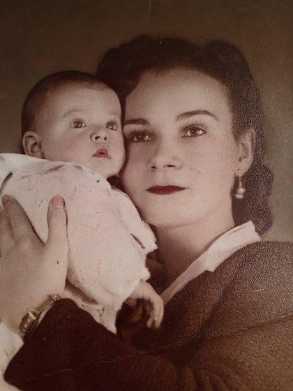 Zulma Faiad con su mamá, Aurora