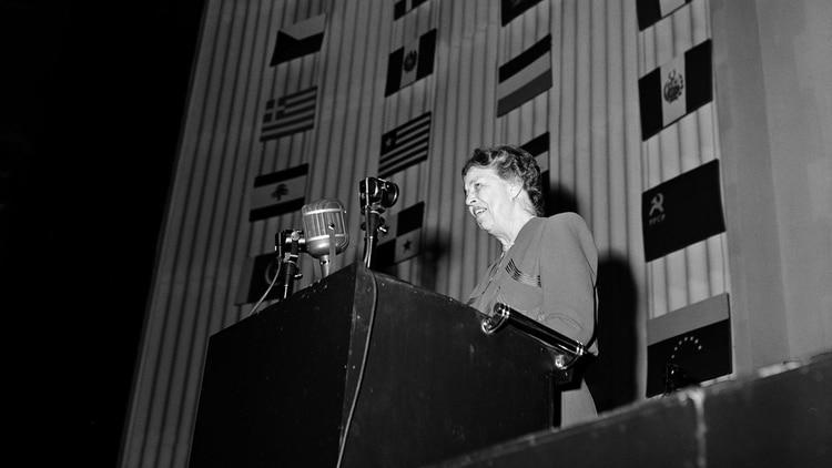 Eleanor Roosvelt, artífice fundamental de la Declaración Universal de los Derechos Humanos (un.org)