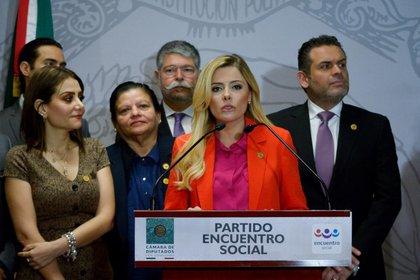 El PES reiteró su apoyo a Irma Terán (FOTO: CUARTOSCURO)