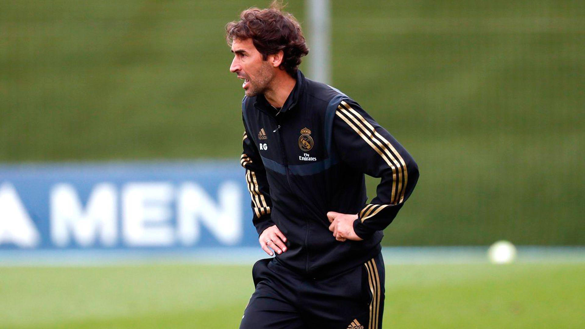 Raúl quiere ser entrenador del Real Madrid más adelante (@RaulGonzalez)