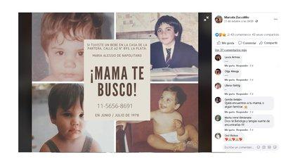 """Me dijeron que mi mamá era de Carlos Casares. No sé si es cierto pero es una pista. """"Me ilusiona pensar que puede estar viva y que puedo tener hermanos y un papá"""", dice Gastón."""
