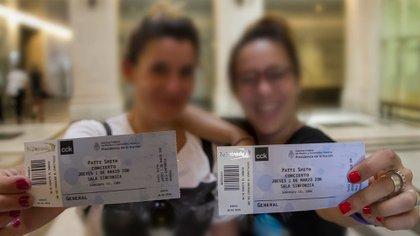 Las entradas para ver Patti Smith, agotadas