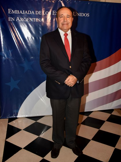El embajador de Colombia en nuestro país, Alejandro Navas Ramos
