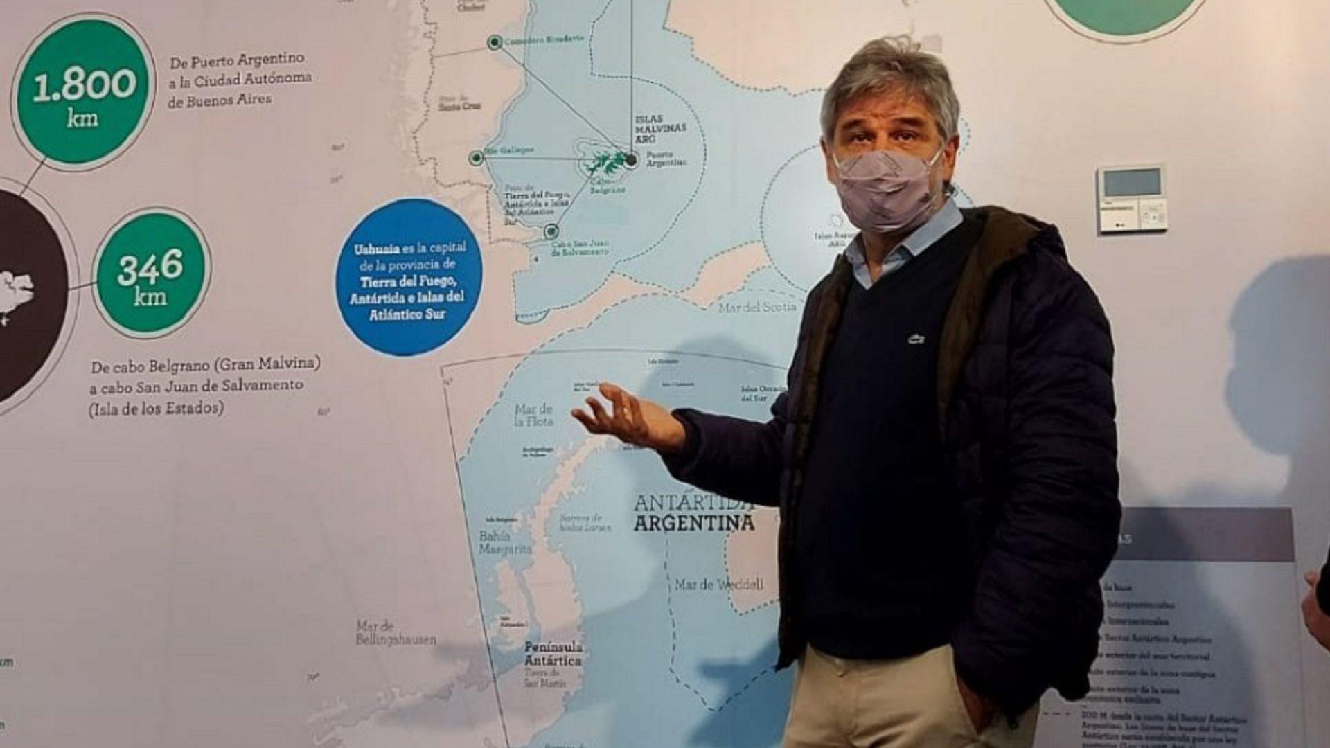 Daniel Filmus, ex Secretario de Malvinas, Antártida y Atlántico Sur