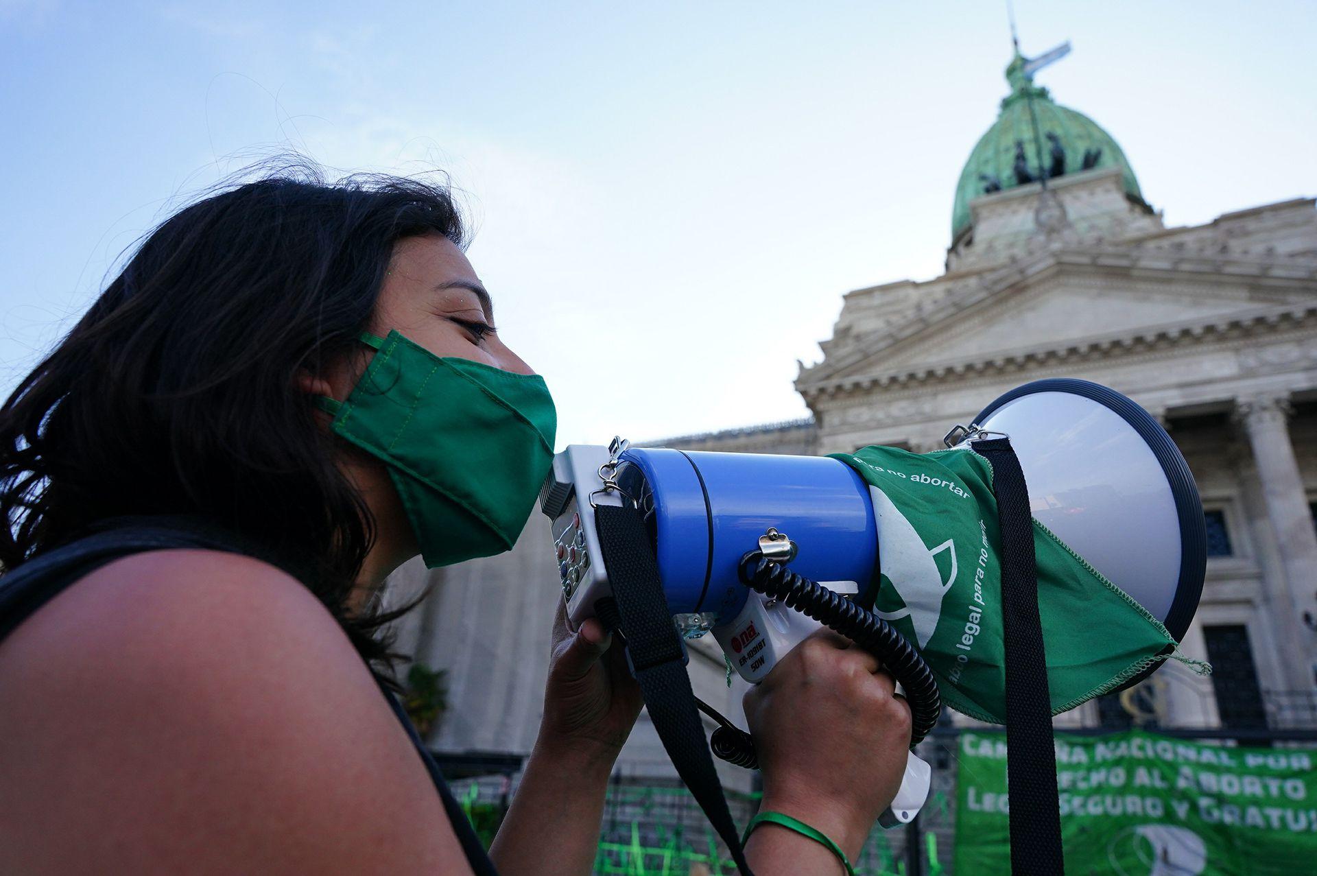 Marcha Aborto Congreso 18/11/20