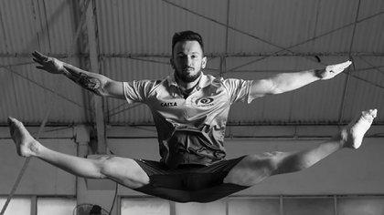Diego Hypólito, una de las grandes figuras del deporte olímpico en Brasil (Instagram)