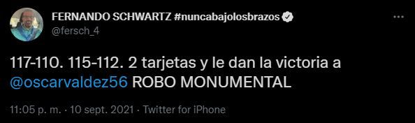 Especialistas criticaron triunfo de Óscar Valdez