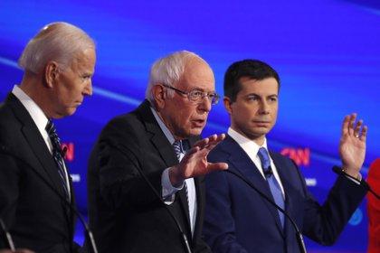 Biden y Sanders son los dos principales candidatos a nivel nacional