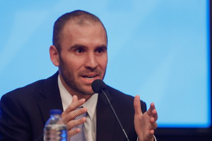 El ministro de Economía de Argentina, Martín Guzmán.