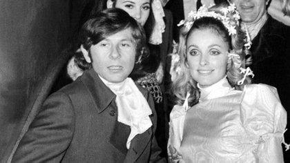 Roman Polanski y su esposa Sharon Tate, asesinada por los acólitos de Manson