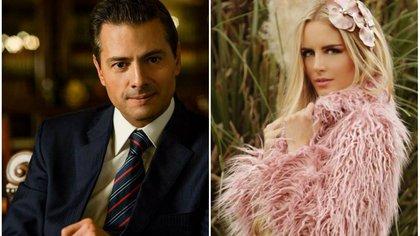 Peña Nieto y Tania Ruiz Eichelmann fueron captados juntos por primera vez a finales de enero en España (Foto: Instagram @epn @taniaruize)