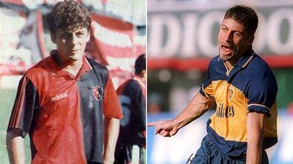 En el año 97 Samuel fue transferido de Newell's a Boca (Crédito: Cuna de Ases)