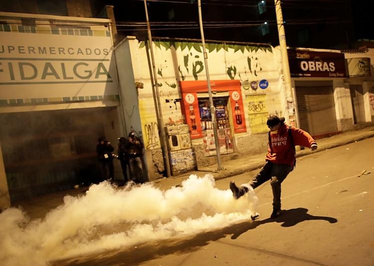 Protestas en Bolivia (REUTERS/Ueslei Marcelino)