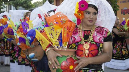 Muxe (Foto: Twitter @SECTUR_mx)