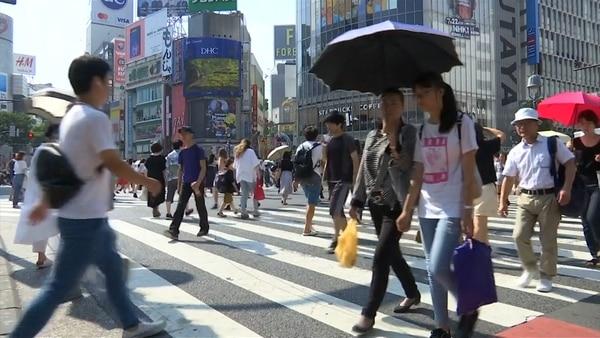 Las temperaturas en Japón han alcanzado cifras récord