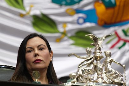 Laura rojas, presidenta de la Cámara de Diputados de México