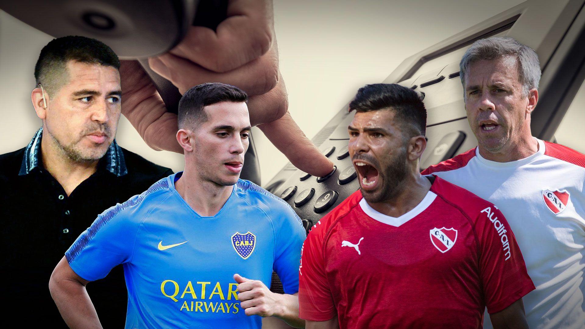 negociaciones entre Independiente y Boca por Ivan Marcone y Silvio Romero