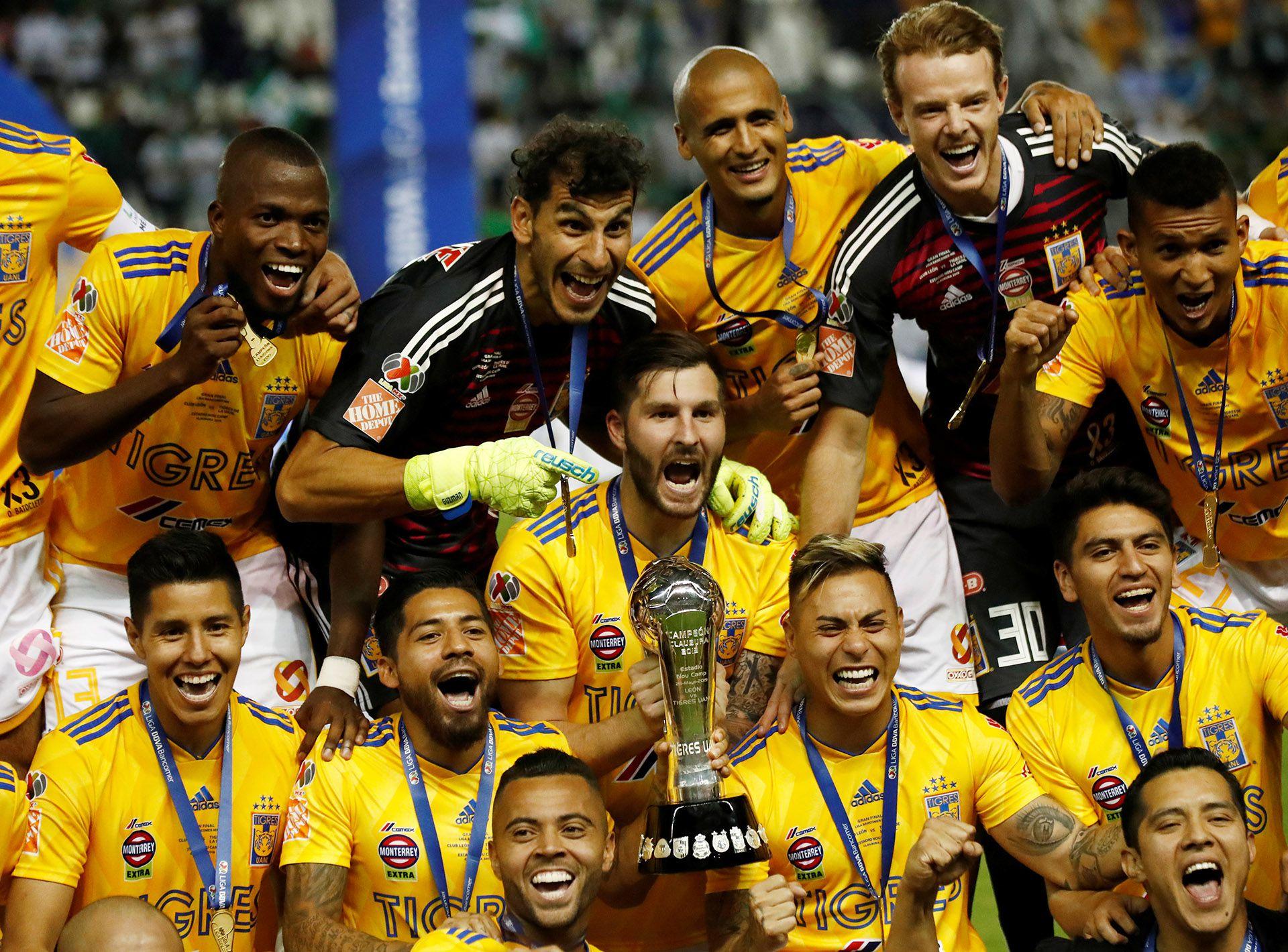 Tigres y Gignac son los actuales campeones del fútbol mexicano; el francés ha ganado cuatro Ligas en cuatro años (Foto:Henry Romero/ Reuters)
