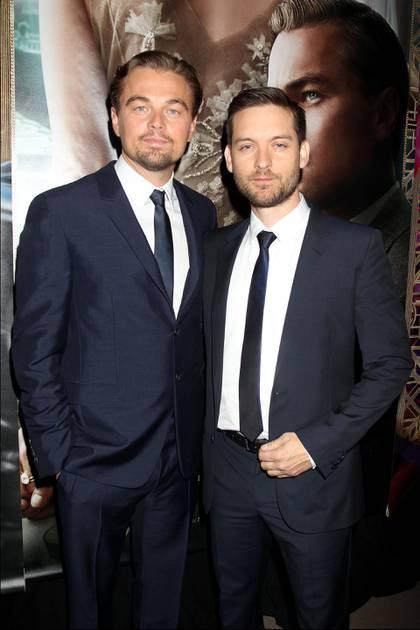 Leonardo DiCaprio y Tobey Maguire (Shutterstock)