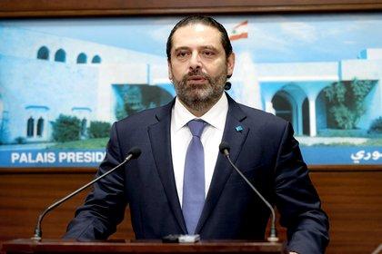 El premier Saad Hariri anuncia las reformas (AFP)