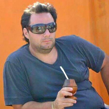 Martín Lanatta en una foto inédita, lejos de la imagen que se conoció luego de su captura: flaco, consumido, deshidratado