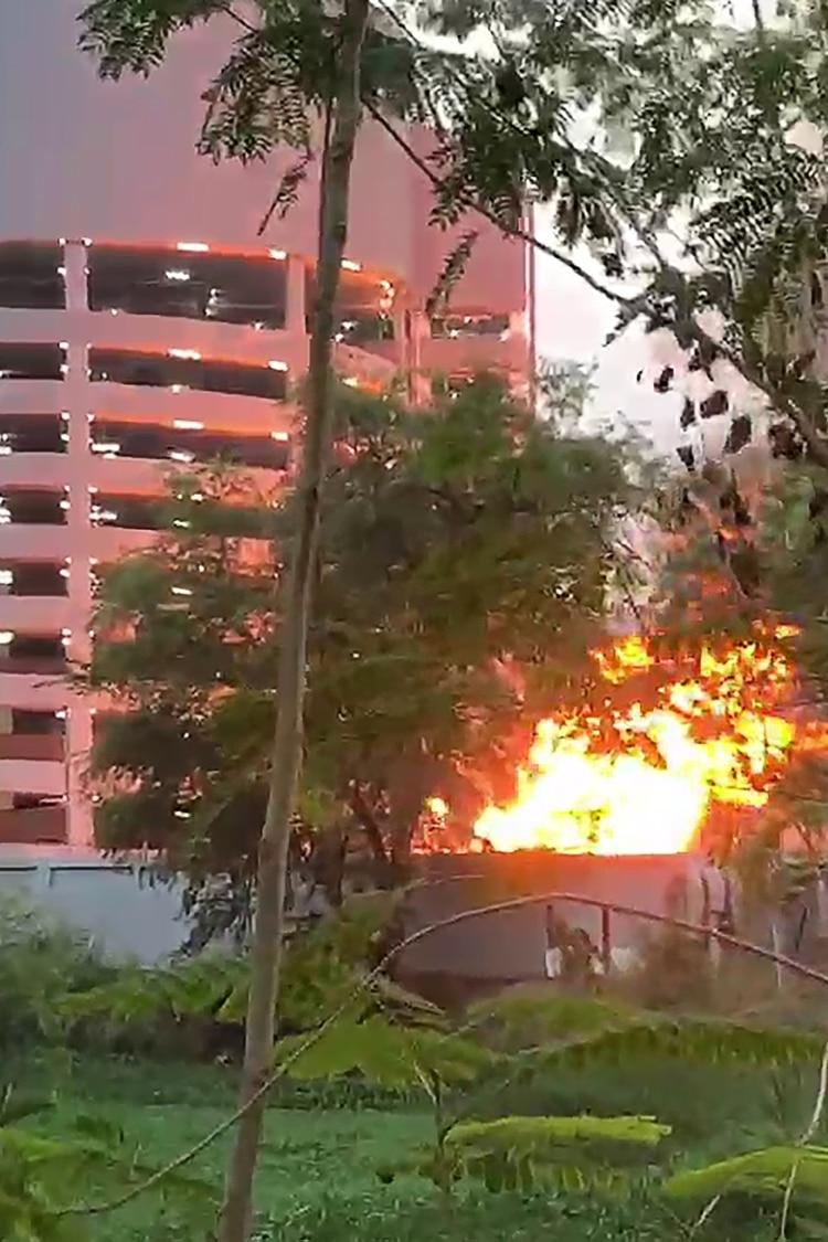 El militar abrió fuego (AFP)