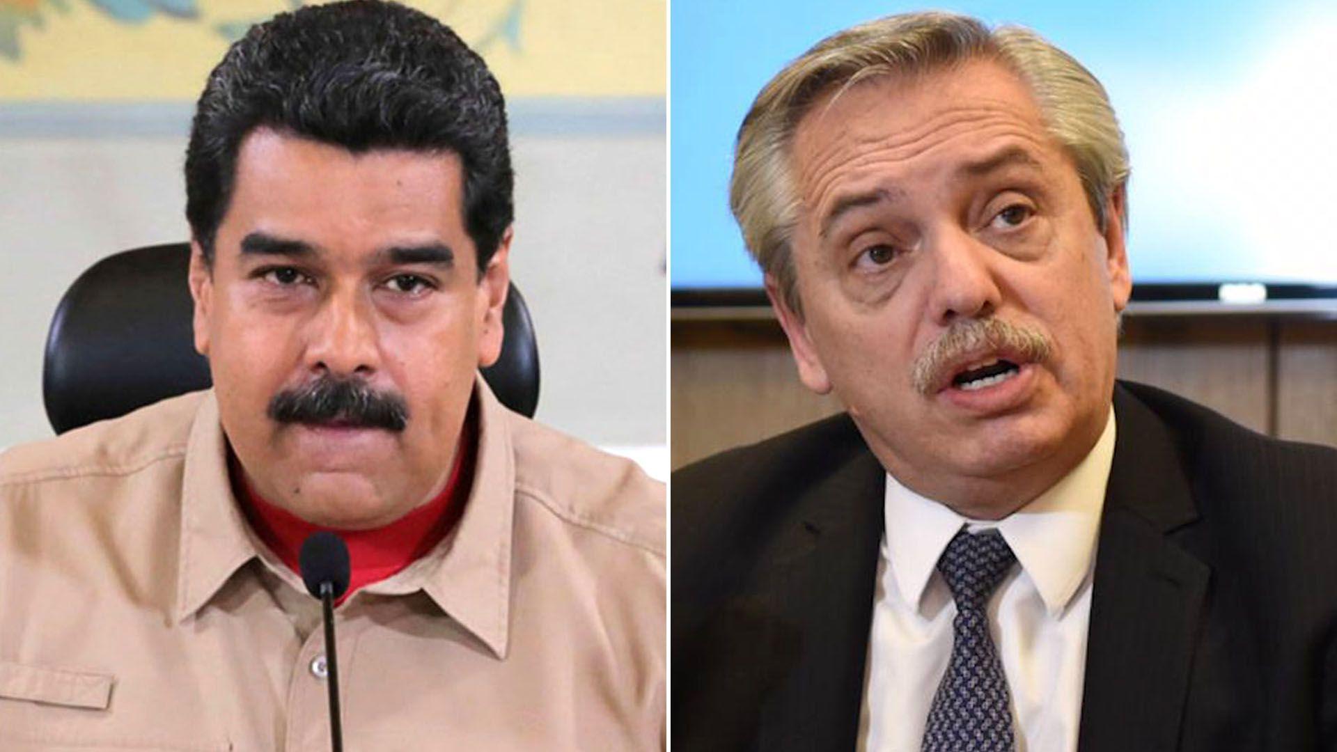 Nicolás Maduro, Alberto Fernández