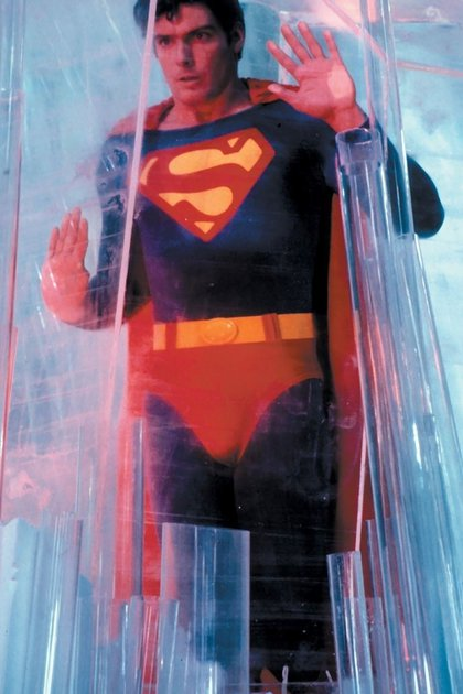 """Christopher Reeve como """"Superman"""" (Grosby Group)"""