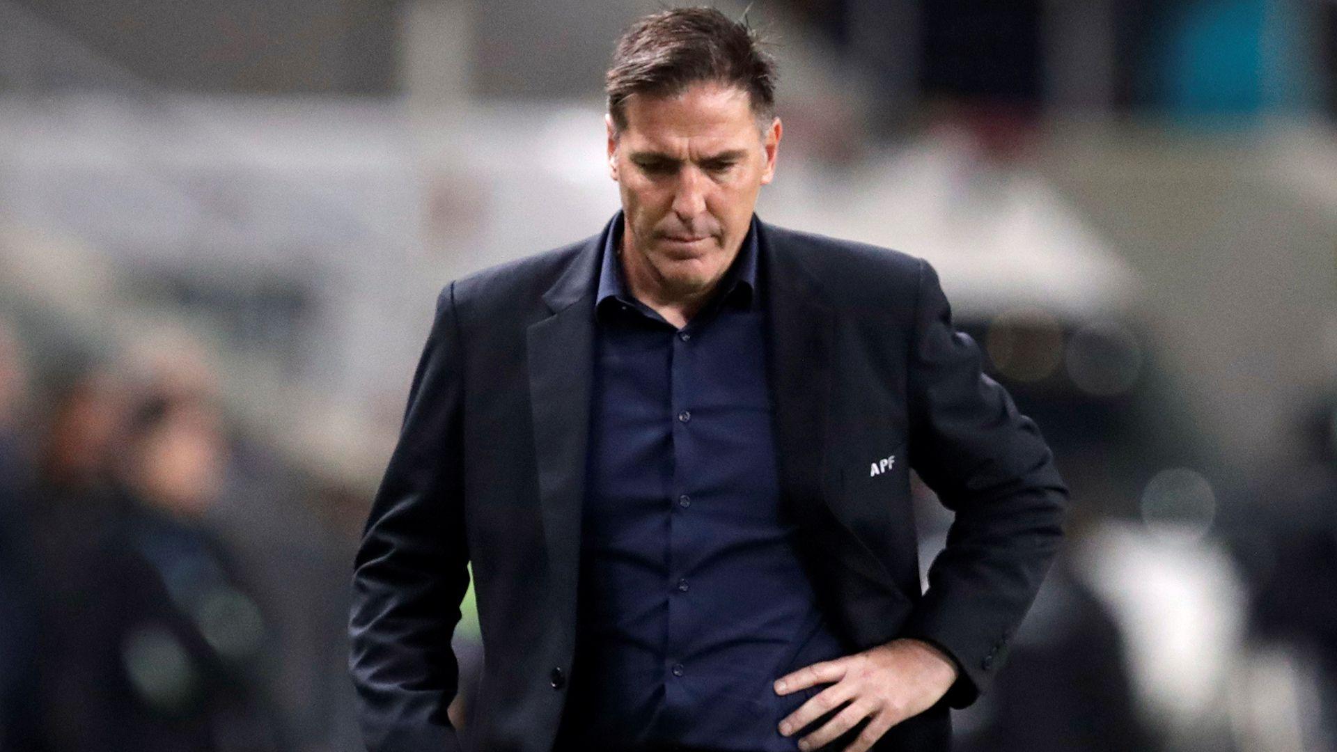 Eduardo Berizzo, entrenador de la selección de Paraguay (REUTERS/Henry Romero)
