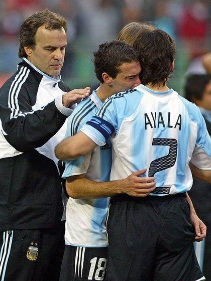 Marcelo Bielsa les pidió a los jugadores que saquen su parte amateur (AFP)