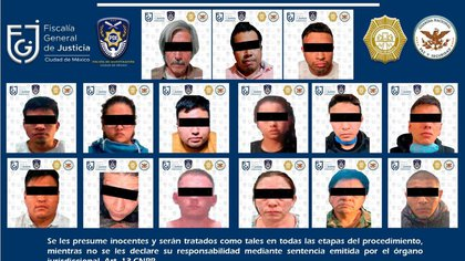 In the direction of this street marked with number 69, altars of satanic type, weapons and narcotics were found.  Presumably, this neighborhood was mostly controlled by women, who sold drugs (Photo: CDMX / SSC Prosecutor's Office)