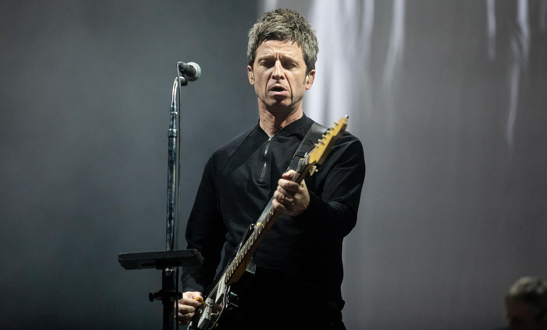 Noel Gallagher en un show en Madrid, en julio de 2019 (Foto: Shutterstock)