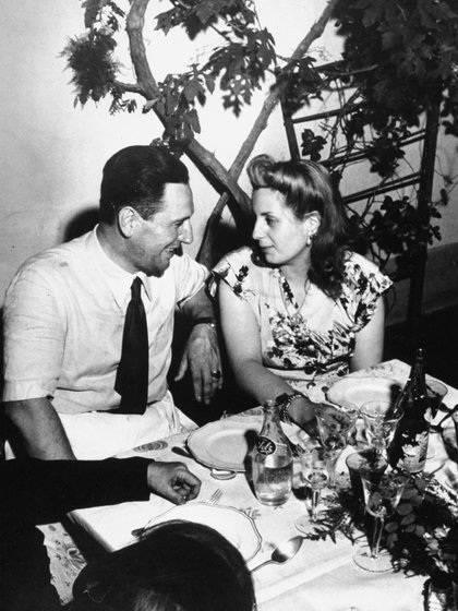 Perón y Evita(Thomas D. Mcavoy/The LIFE Picture Collection/Getty Images)
