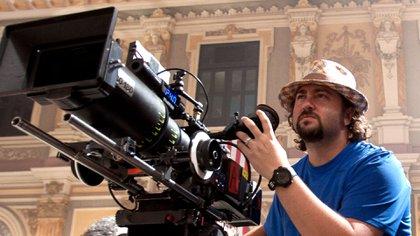 Jonathan Jakubowicz durante el rodaje de una de sus películas (Gentileza de Jonathan Jakubowicz)