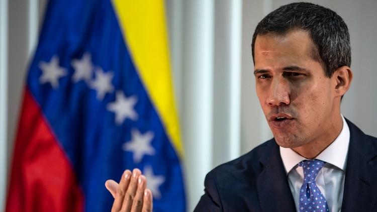Juan Guaidó, presidente encargado de Venezuela designado por la Asamblea Nacional (AFP)