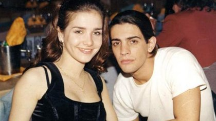 Con Natalia Oreiro se conocieron cuando ella tenía 17 y era una desconocida y él de 23 ya era un galán en ascenso.