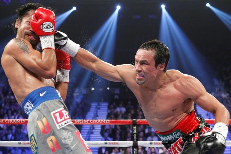 Manny Pacquiao fue noqueado por Juan Manuel Marquez en 2012 (Foto: Reuters/Steve Marcus)