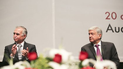 Alfonso Romo será desde hoy el jefe de la Oficina de la Presidencia. (Fotos: lopezobrador.org)