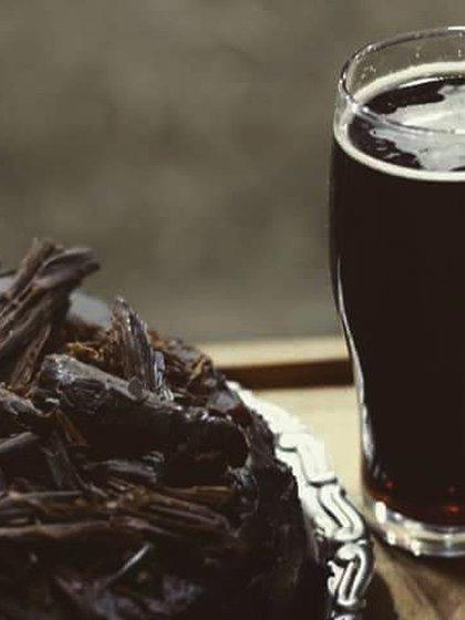 Torta raff black (cerveza negra)