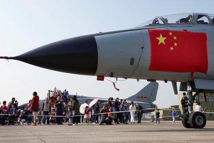 Caza del Ejército Popular de Liberación chino (Reuters)