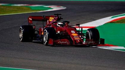 El auto de Ferrari para Mugello (Foto: @ScuderiaFerrari)