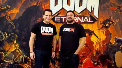 Marty Stratton y Hugo Martin: las nuevas caras de id Software.